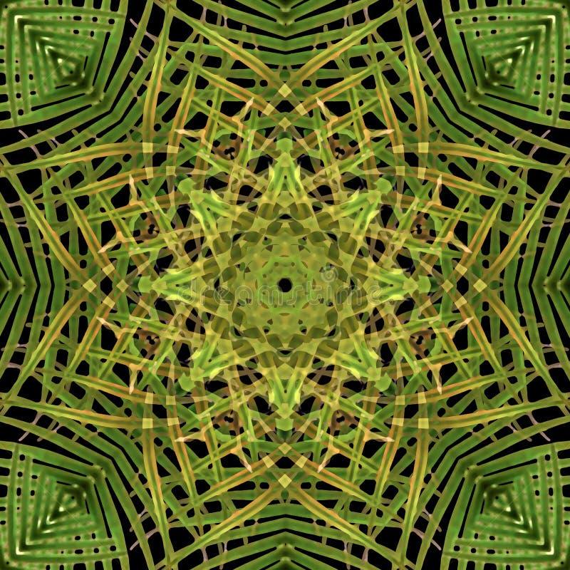 Sömlös bakgrund för modern sakral geometri vektor illustrationer