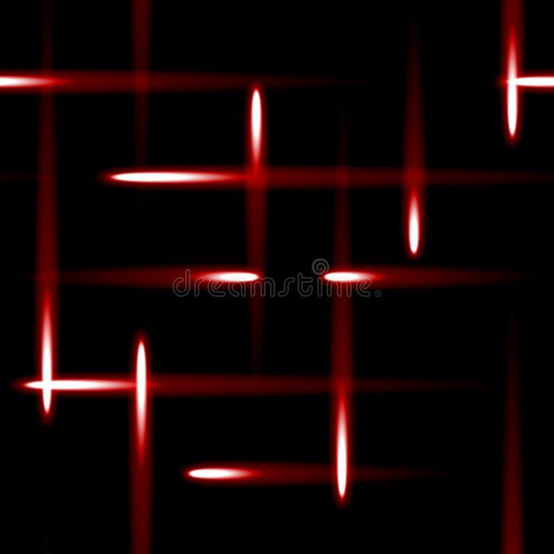 sömlös bakgrund för röda surr vektor illustrationer
