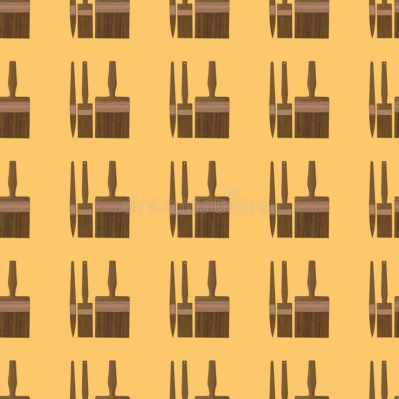 Sömlös bakgrund med skruvar vektor illustrationer