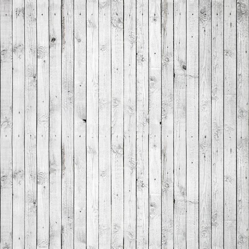 Sömlös bakgrundstextur av vitt trä royaltyfria bilder