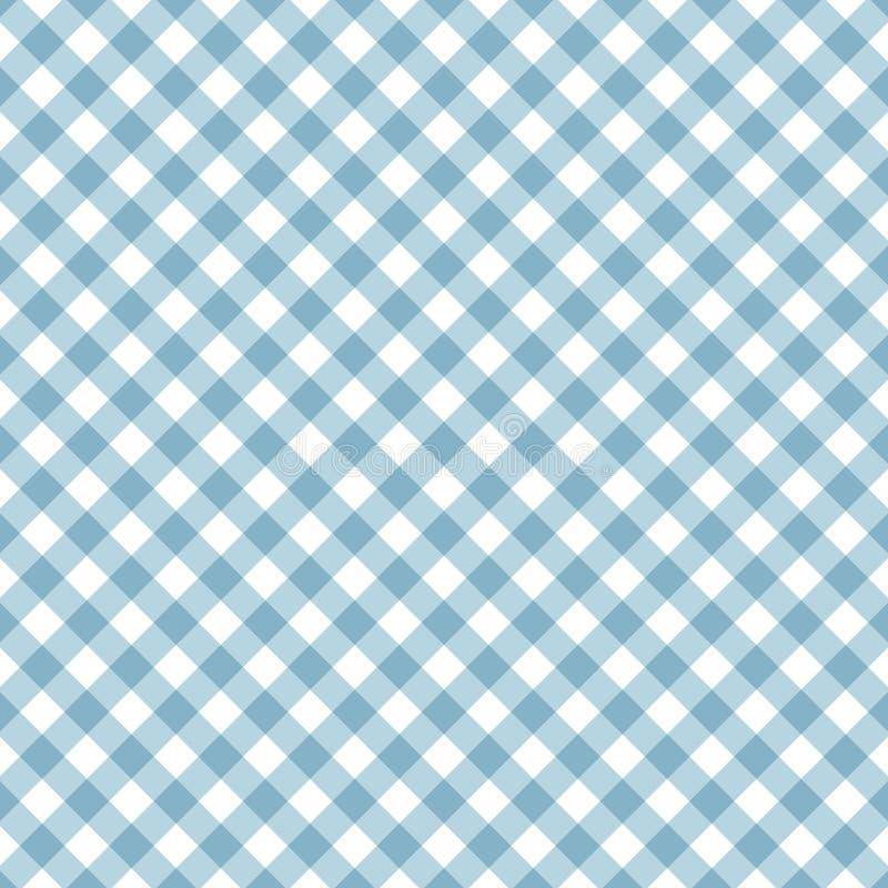 Sömlös bandmodell i blåa och vita färger Geometriskt modellband med diagonala linjer ocks? vektor f?r coreldrawillustration vektor illustrationer