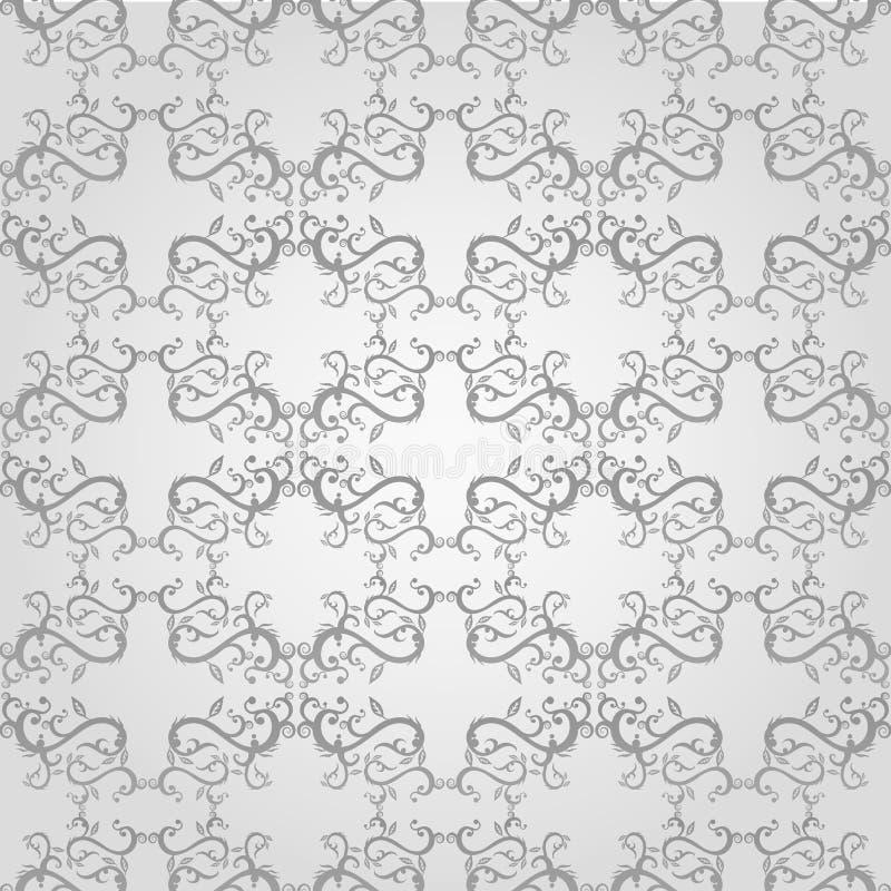 Sömlös blom- modell vektor illustrationer