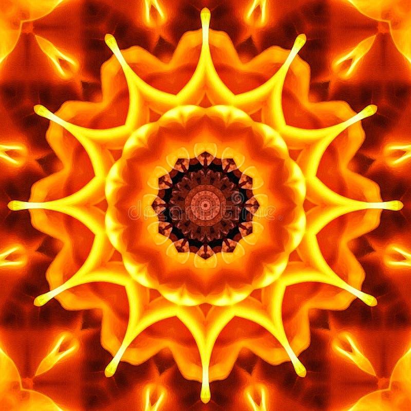 Sömlös brandabstrakt begreppbakgrund med Vattenfärg-som textur royaltyfria foton