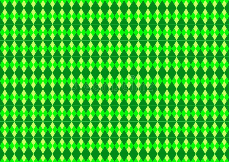 Sömlös för Techno för neon gräsplan färgad geometrisk tapet för bakgrund orientalisk dekorativ modell stock illustrationer