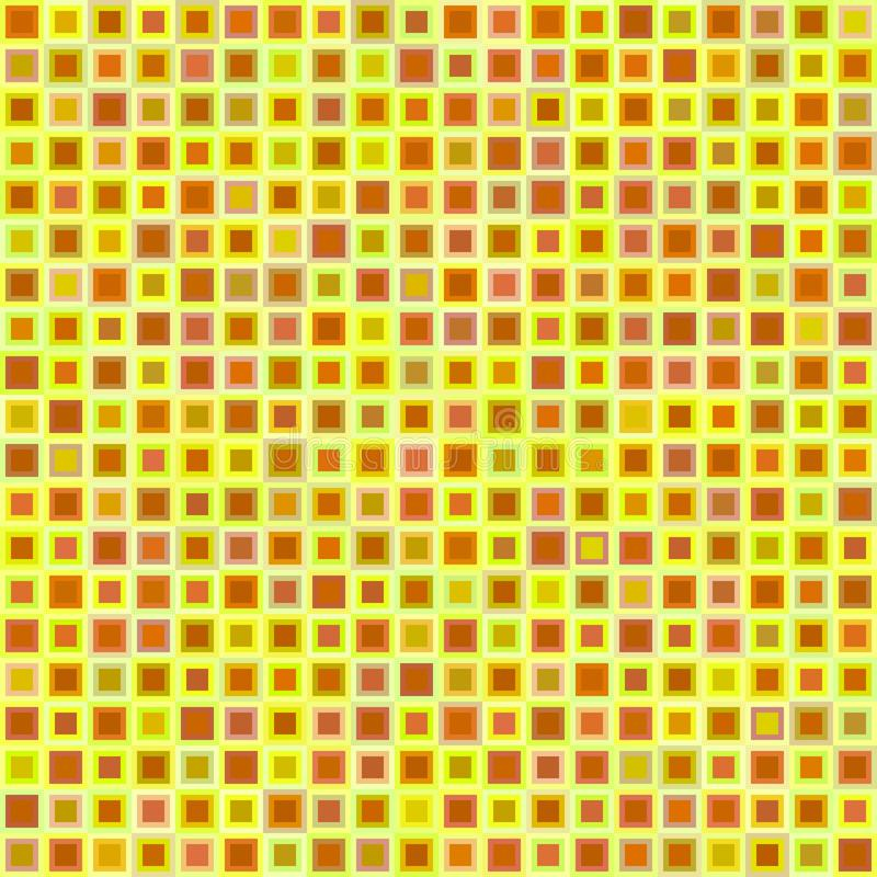 Sömlös fyrkantbakgrund royaltyfri illustrationer