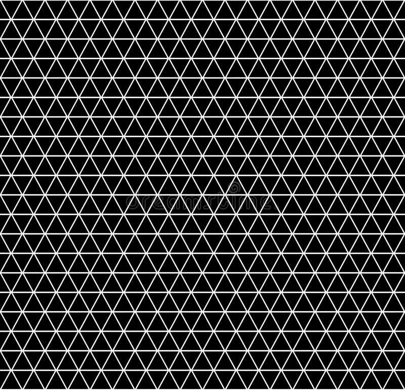 Sömlös geometrisk latticed textur vektor illustrationer