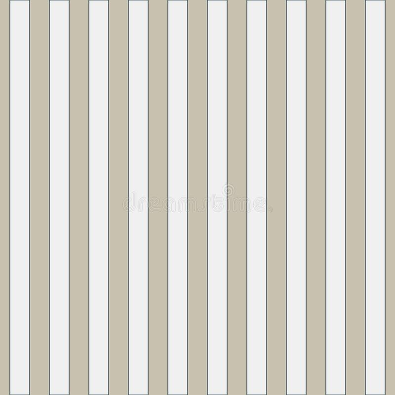 Sömlös geometrisk modell i gulliga vita band på förtjust säckväv Trycket för textilen, tygtillverkning, tapet, täcker, royaltyfri illustrationer