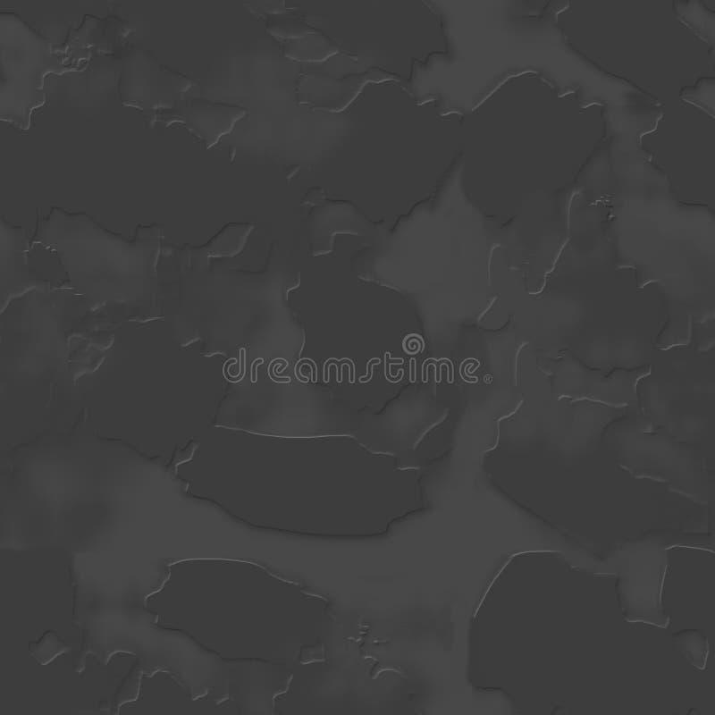 Sömlös grå textur av väggen, stenar, kullersten royaltyfri illustrationer