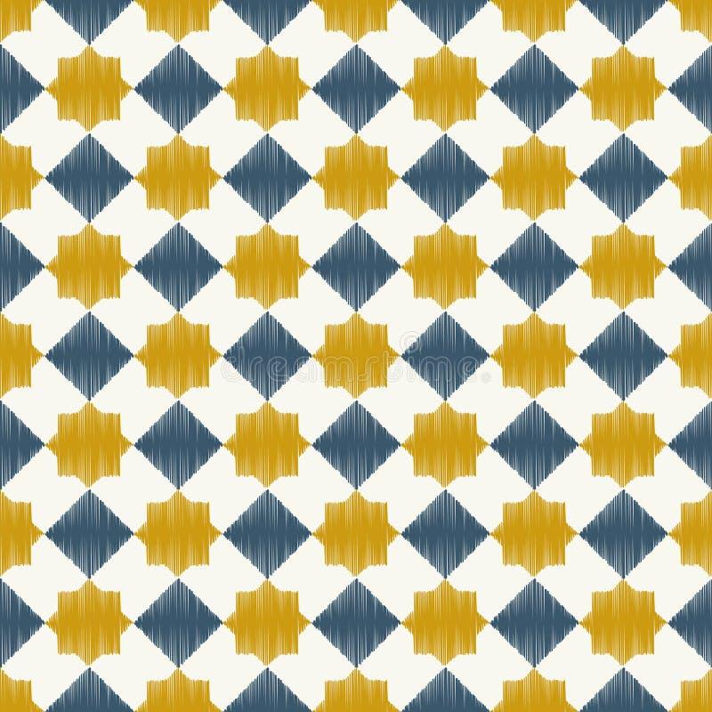 Sömlös islamisk ingreppsmodell royaltyfri illustrationer