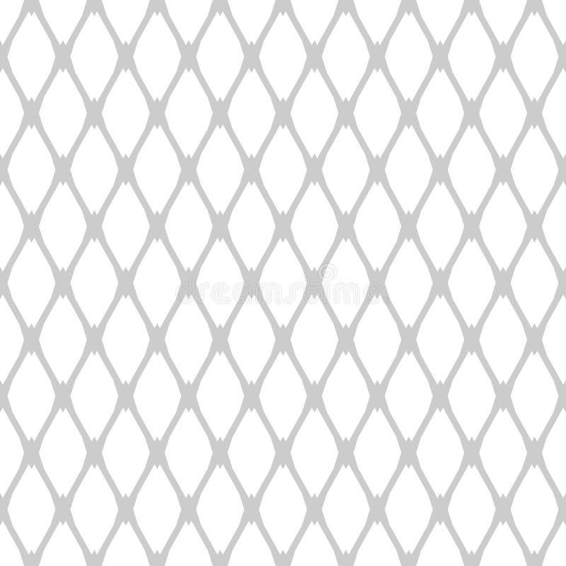 Sömlös latticed modell vektor illustrationer