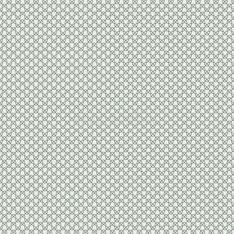 Sömlös linjär krabb textur royaltyfri illustrationer