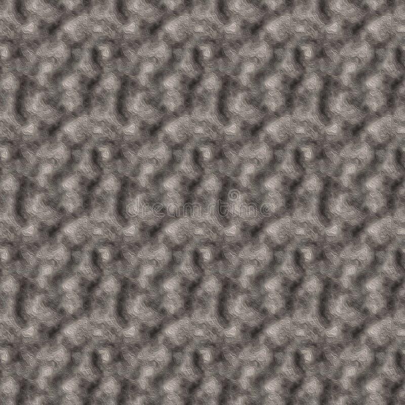 Sömlös mång--färgad konkret textur med en variation av lättnad royaltyfri illustrationer