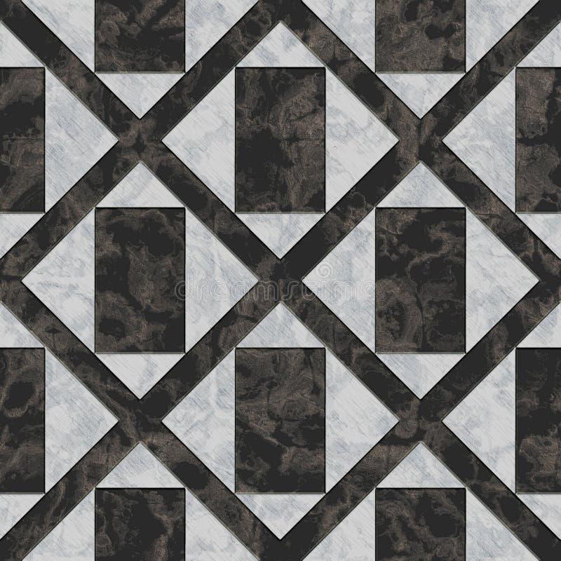 Sömlös marmormodell royaltyfri bild