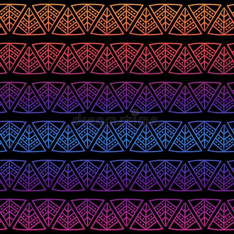 Sömlös modell av beads-08 vektor illustrationer