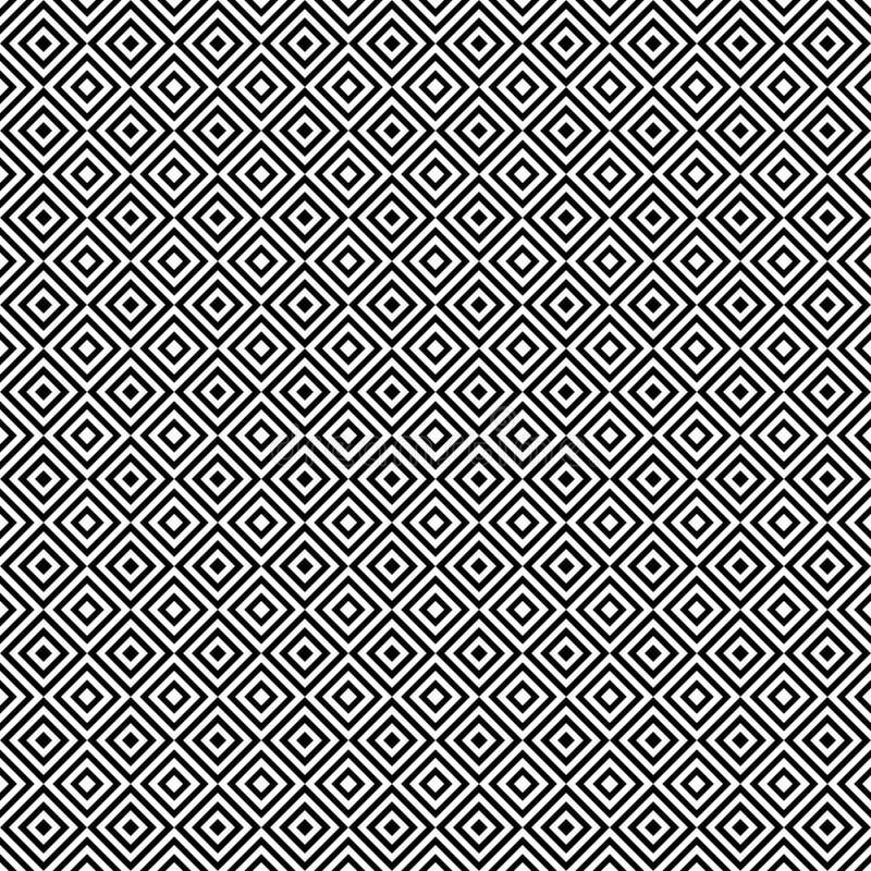 Sömlös modell av krabba linjer Ovanligt galler geometrisk bakgrund vektor illustrationer