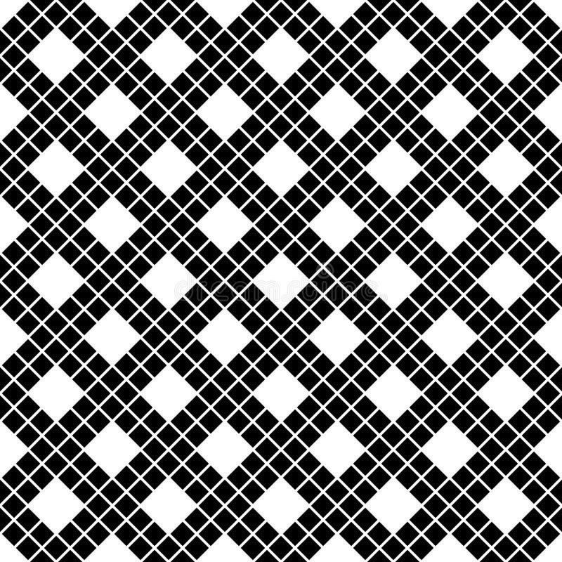 Sömlös modell av linjer och romber geometrisk bakgrund arkivfoto