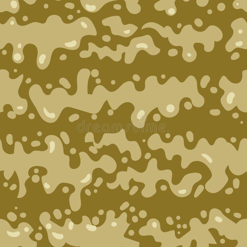 Sömlös modell av slamdroppar abstrakt illustrationvektor vektor illustrationer