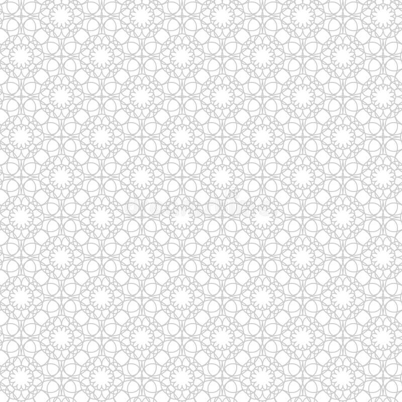 Sömlös modell för design av kort, inpackningspapper, bordduken, torkduken, bedlinen, etc. också vektor för coreldrawillustration stock illustrationer