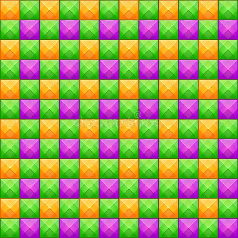 Sömlös modell för färgrik abstrakt mosaik den bästa nedladdningoriginalen skrivar ut klar textur till vektorn vektor illustrationer