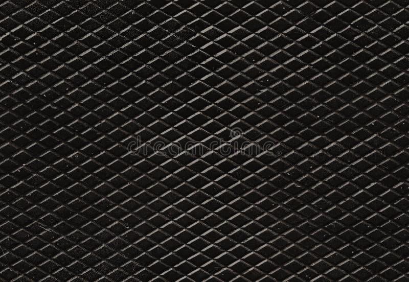 Sömlös modell för grungediamantmetall för bakgrunder och påfyllningar arkivfoto