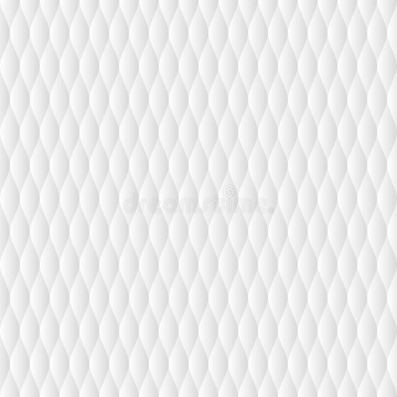 Sömlös modell för mjukt täcke vektor illustrationer