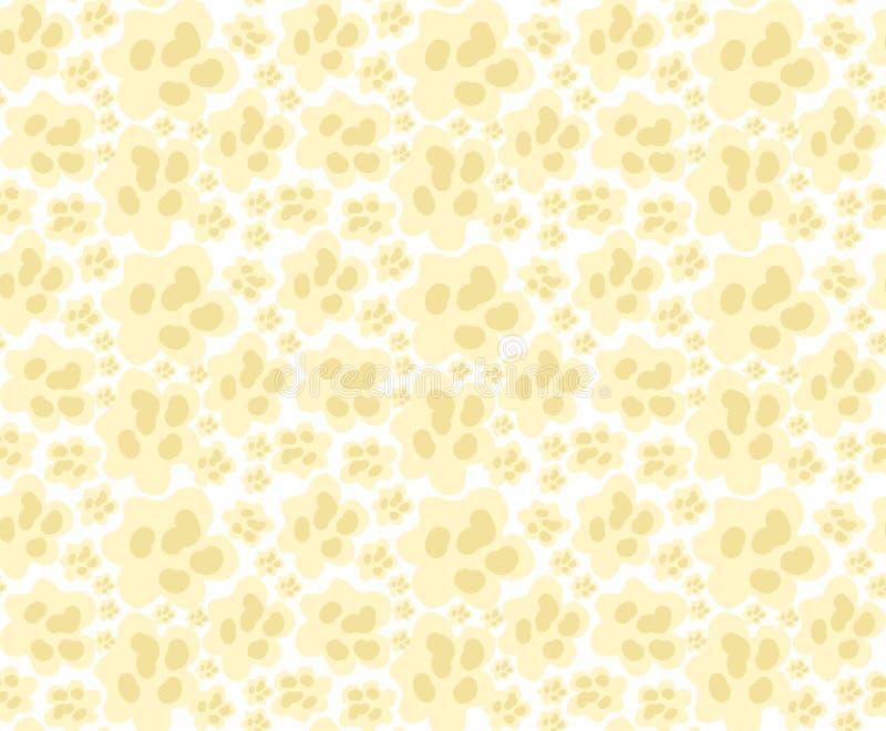 Sömlös modell för popcorn, ändlös textur upprepa för bakgrund också vektor för coreldrawillustration stock illustrationer