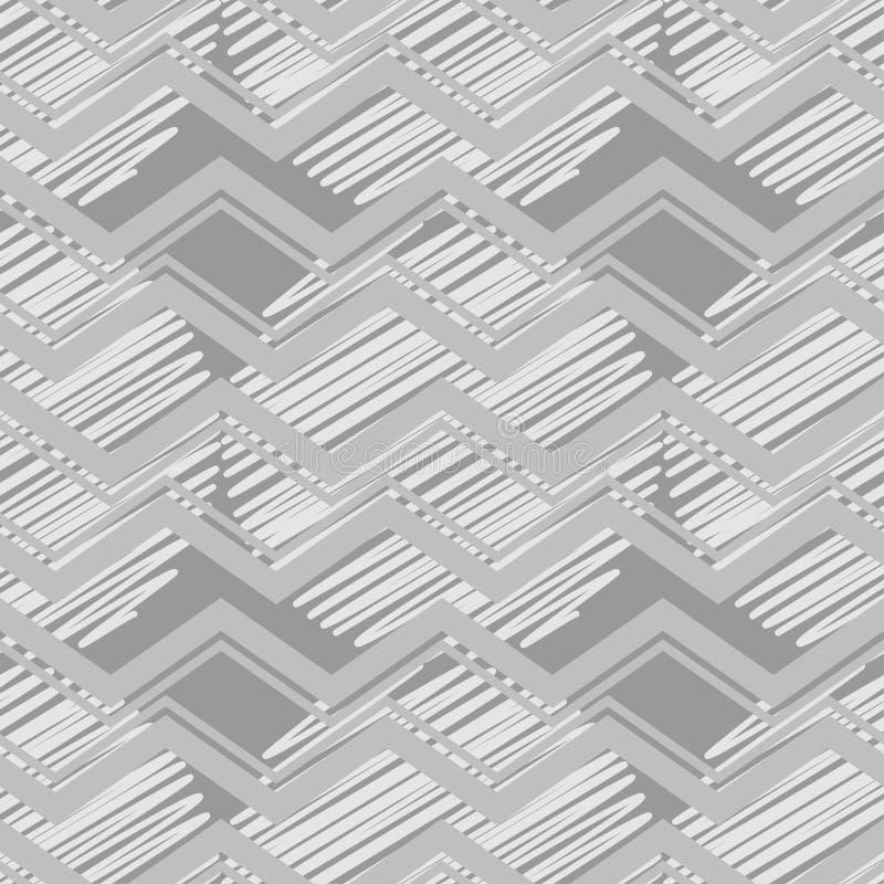 Sömlös modell för prick geometrisk bakgrund De färgrika bollarna Klottra textur stock illustrationer