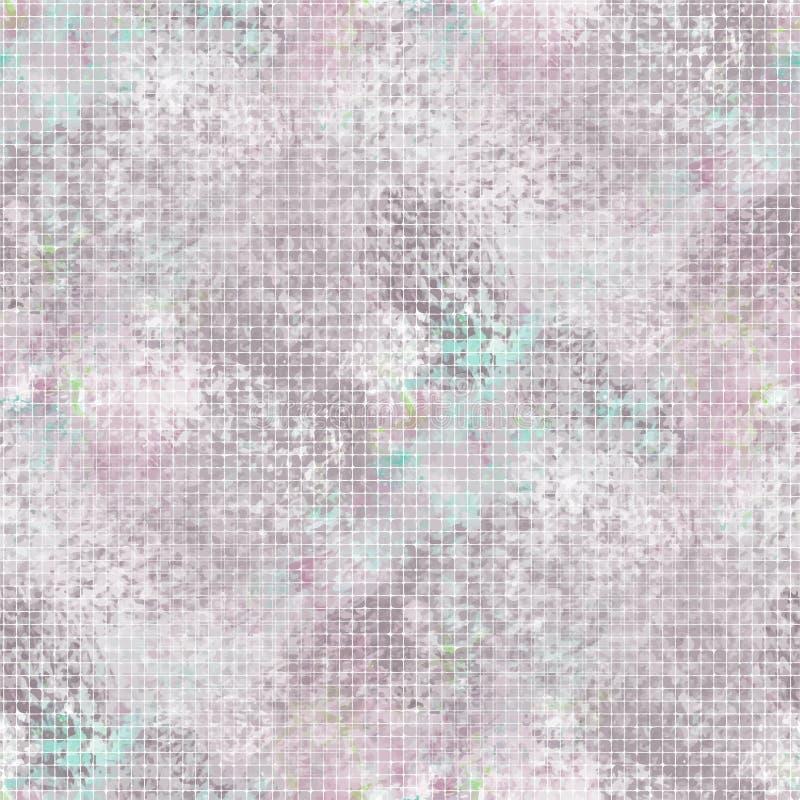 Sömlös modell för purpurfärgad ogenomskinlighetsvektor vektor illustrationer