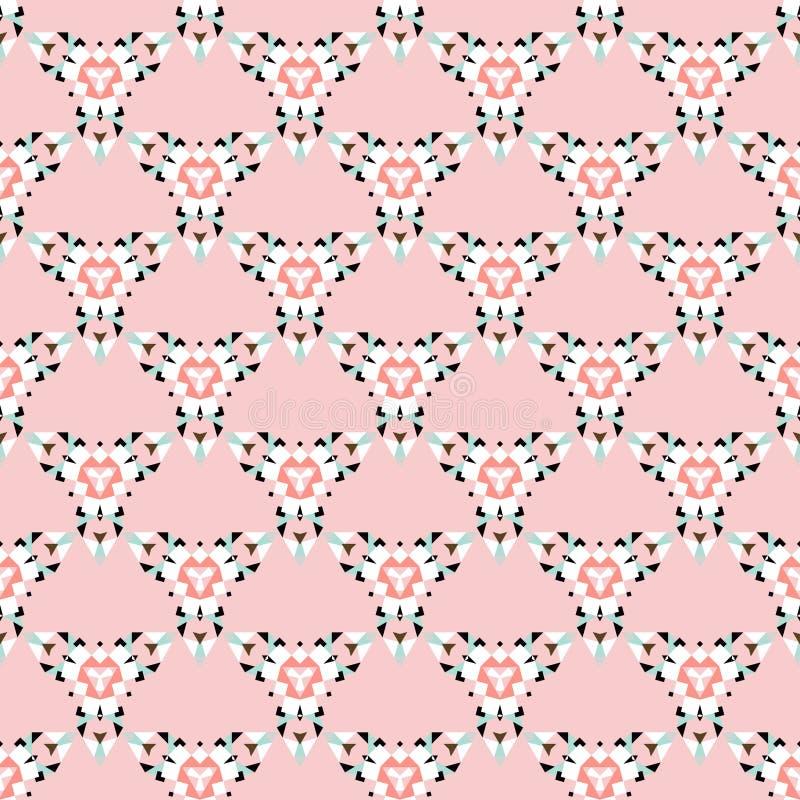 Sömlös modell för stam- trianglar arkivbilder