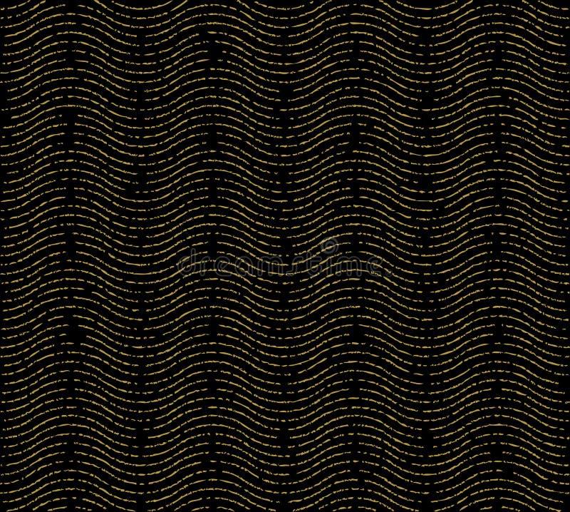 Sömlös modell för texturvåg vektor illustrationer