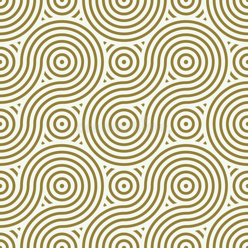 Sömlös modell för vektor, grafiskt geometriskt inpackningspapper Abstr stock illustrationer
