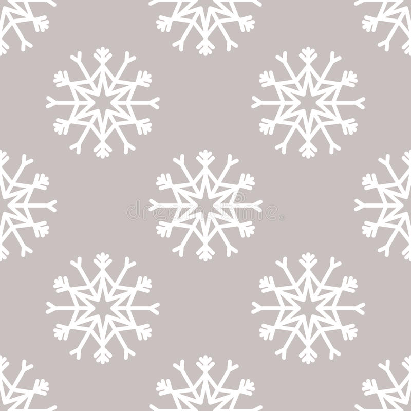 Download Sömlös Modell För Vektor Med Snöflingor Vinter För Blåa Snowflakes För Bakgrund Vit Vektor Illustrationer - Illustration av dekorativt, seamless: 78725116