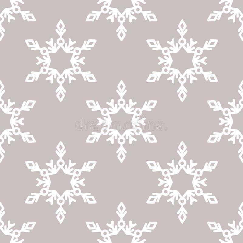 Download Sömlös Modell För Vektor Med Snöflingor Vinter För Blåa Snowflakes För Bakgrund Vit Vektor Illustrationer - Illustration av modell, gåva: 78725132