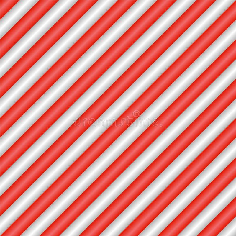 Sömlös modell för vektorfyrkantgodis med diagonala linjer vektor illustrationer