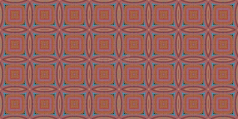 Sömlös modell med den symmetriska geometriska prydnaden Randig röd vitabstrakt begreppbakgrund Abstrakt begrepp upprepad tapet vektor illustrationer