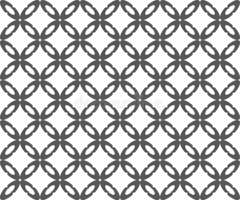 Sömlös modell som upprepar geometrisk textur royaltyfri illustrationer