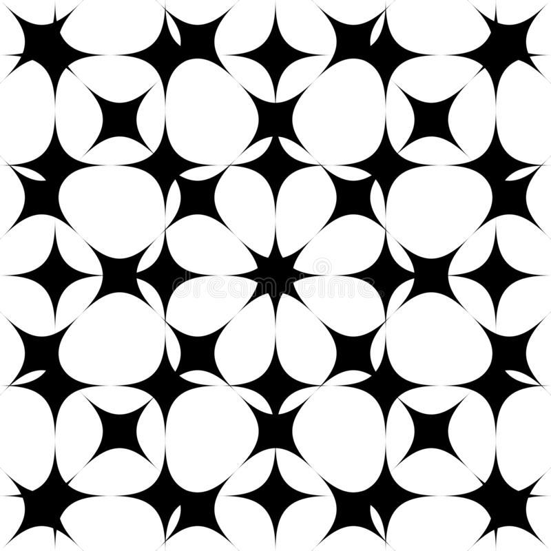 Sömlös modellbakgrund Abstrakt begrepp i geometrisk design seamless vektor för modell vektor illustrationer