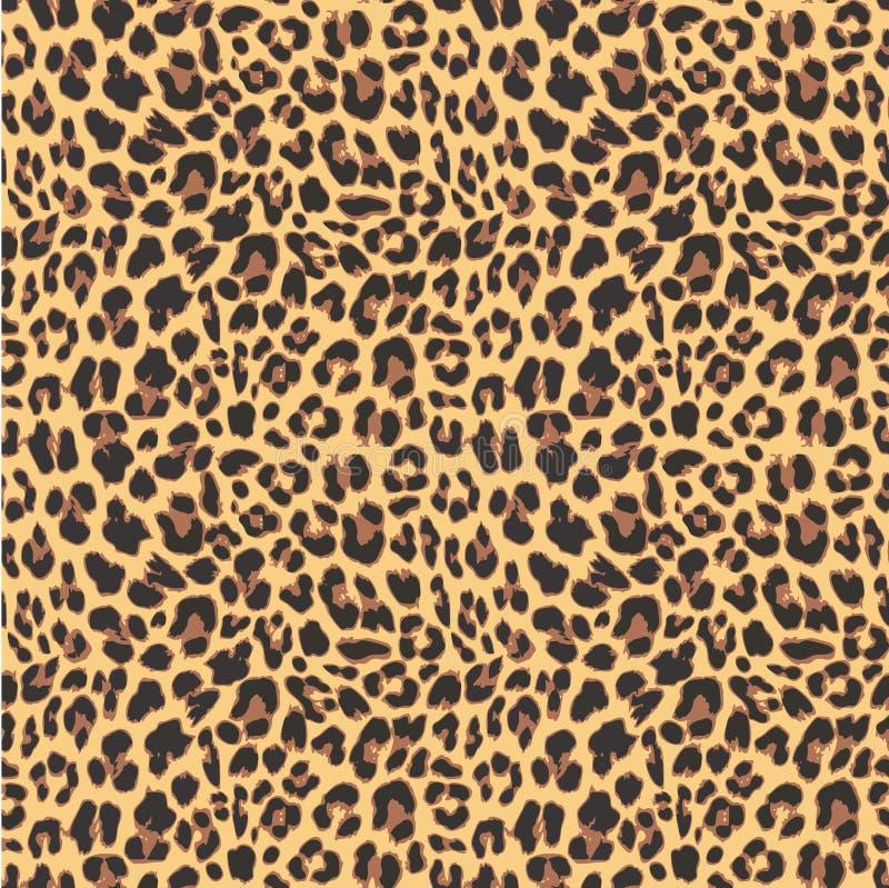 Sömlös modelldesign för leopard,