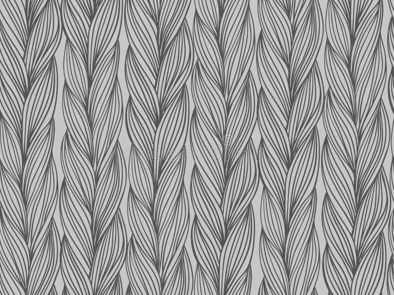Sömlös modellefterföljd av tröjatyg vektor illustrationer