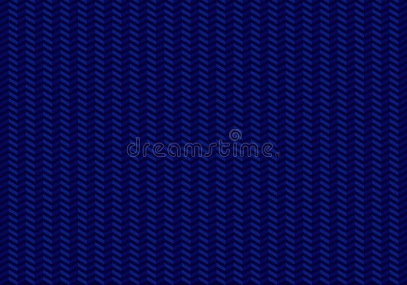 Sömlös modellsicksack för pilar på blå bakgrund stock illustrationer