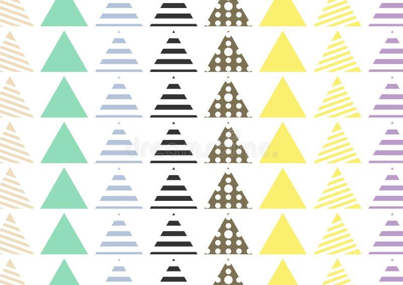 Sömlös modelltegelplatta Bakgrund för beståndsdelar för tappning dekorativ dragen hand Göra perfekt för utskrift på tyg, affische royaltyfri illustrationer