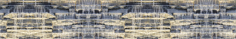 Sömlös panorama- mörk bakgrund av vattenfallet på stenväggen royaltyfria bilder