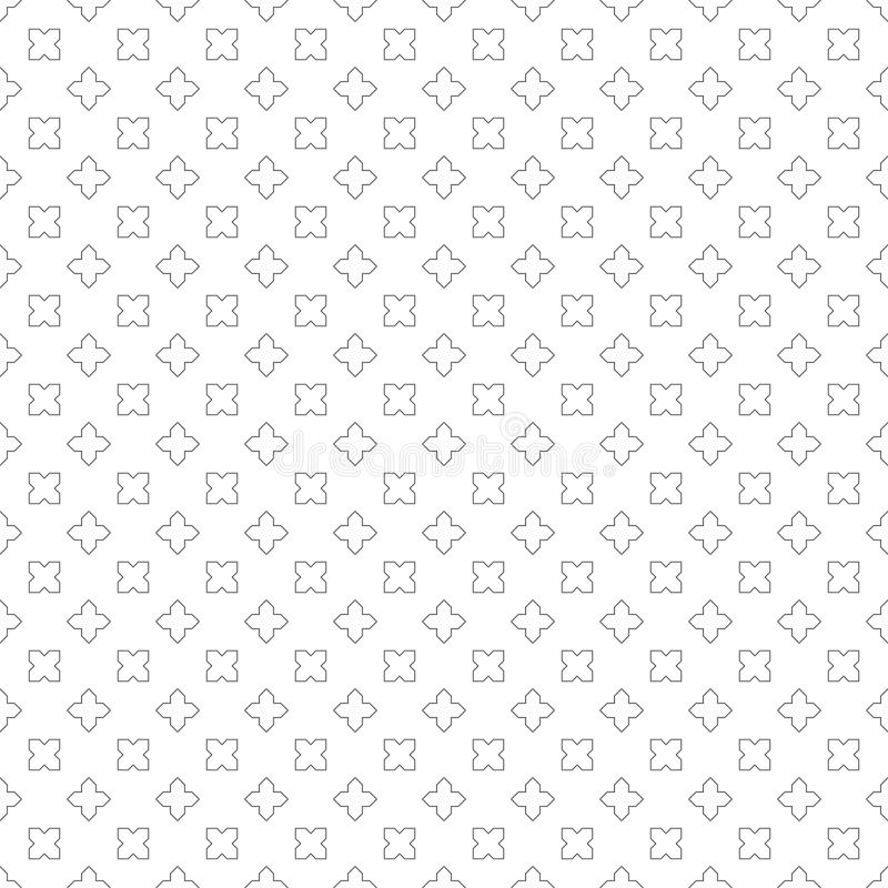 Sömlös pattern803 royaltyfri illustrationer