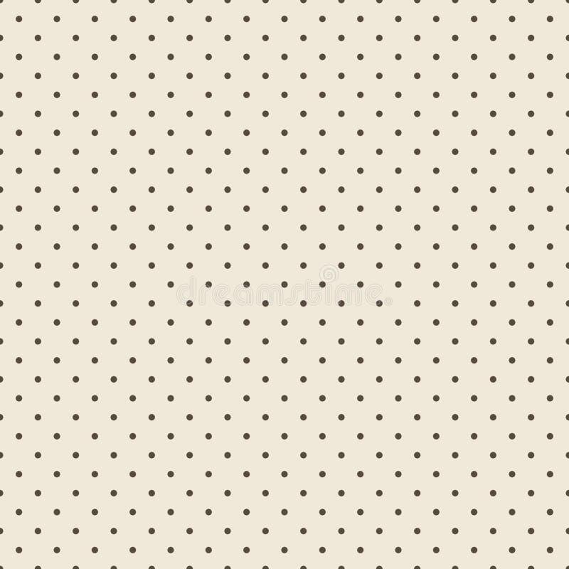 Sömlös prickbakgrund vektor illustrationer