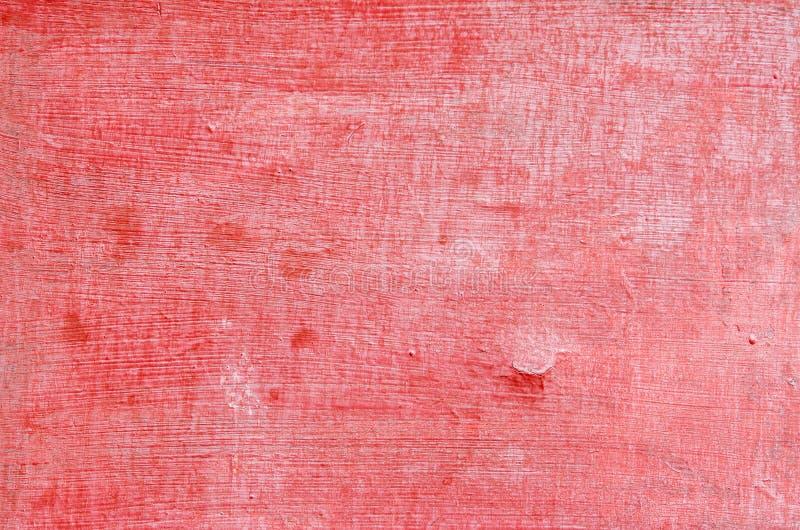 Sömlös röd sprucken målarfärggrungebakgrund arkivbilder