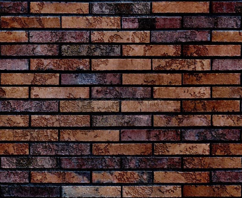 Sömlös sliten textur för bakgrund för modell för vägg för grungebrunttegelsten seamless vägg för bakgrundstegelsten Passande arki royaltyfri fotografi