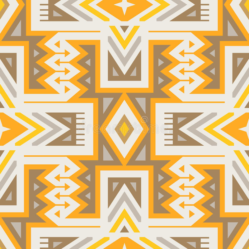 Sömlös stam- modell för vektor för textildesign royaltyfri illustrationer