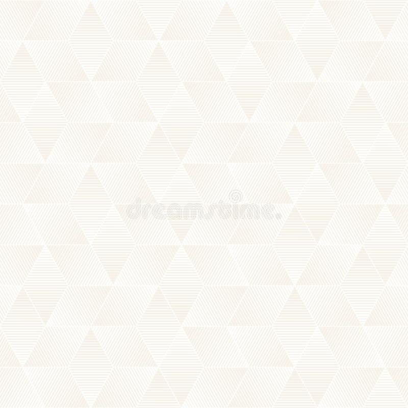 Sömlös subtil gallermodell för vektor Modern stilfull textur med monokrom spaljé Upprepa geometriskt raster Lodisar för enkel des arkivbilder
