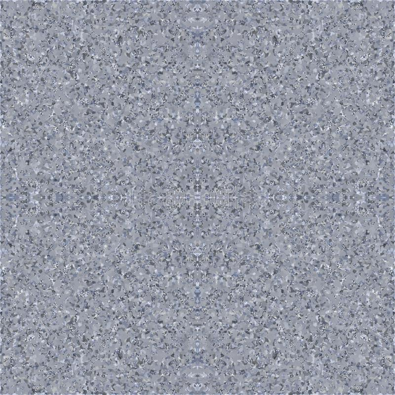 Sömlös textur av cement/grå färggranit/marmor gå i flisor vektor stock illustrationer