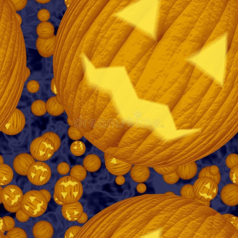 Sömlös textur av halloween pumpa royaltyfria foton